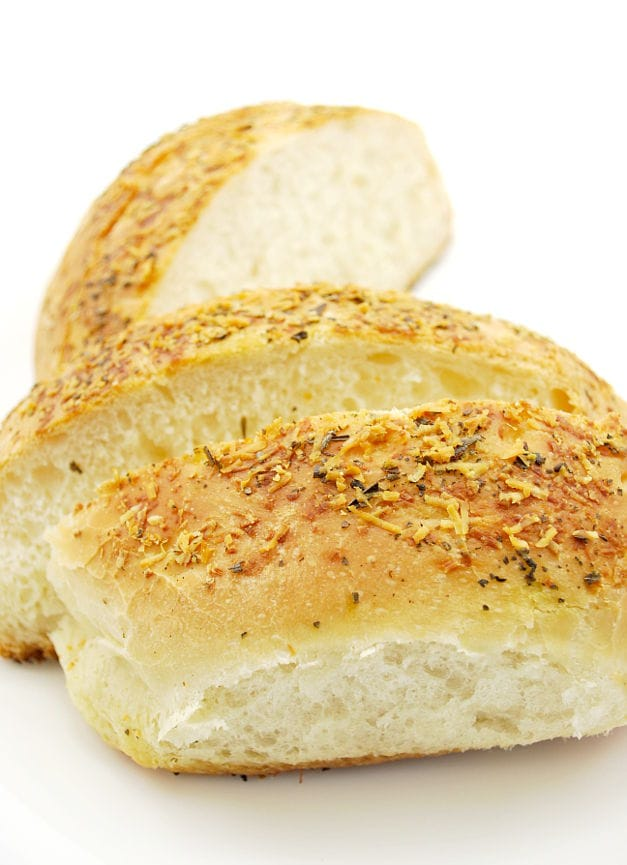 easy parmesan breads