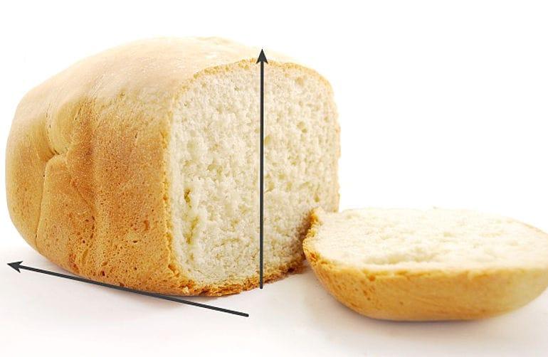 loaf size