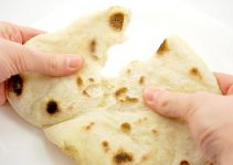 fresh home-made pita bread
