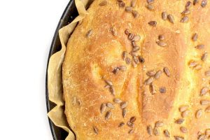 home-made sunflower seeds bread