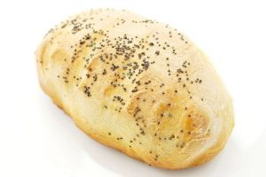 mini baguettes with poppy seeds
