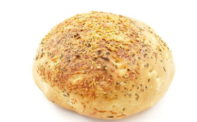 oregano breads with parmesan