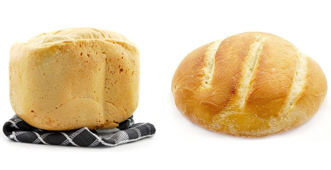 bread maker vs oven baking