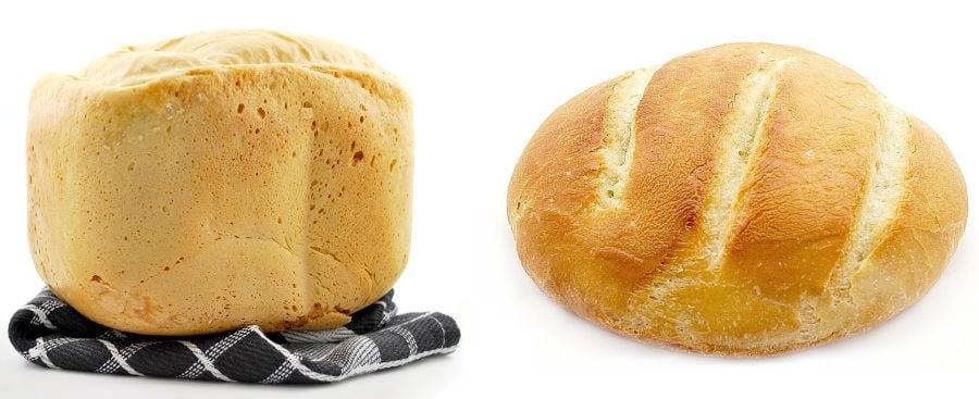 bread maker vs oven baking