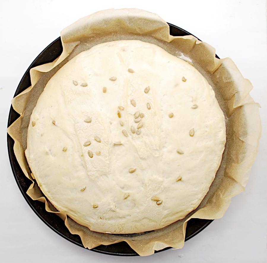 proofing bread dough