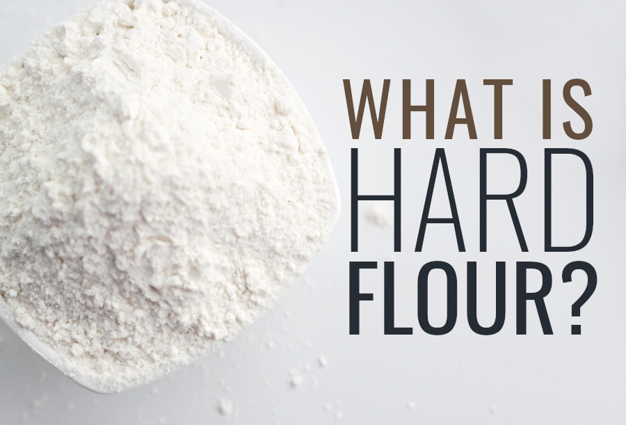 what is hard flour