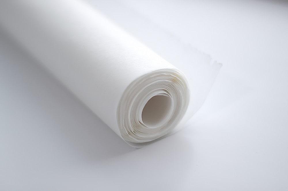Bleached parchment paper