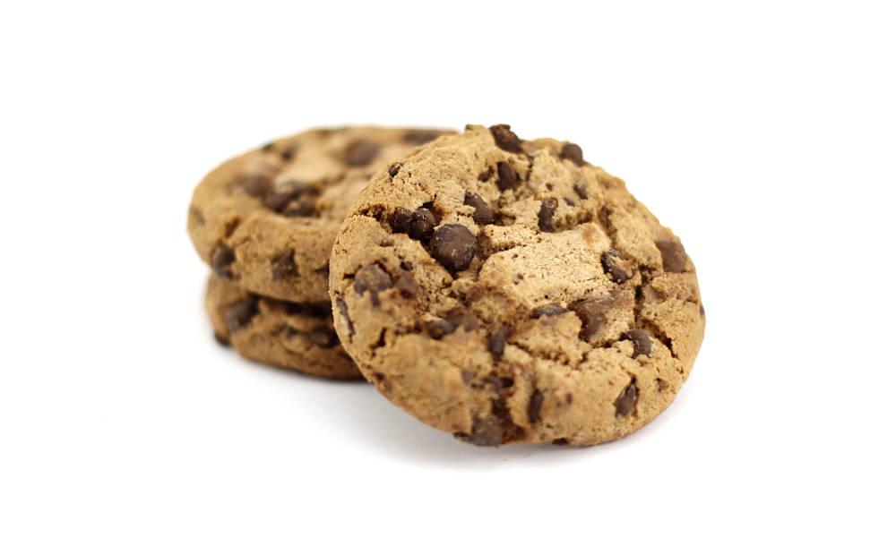 cookies made using a cookie scoop